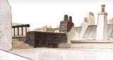 Sobre los tejados